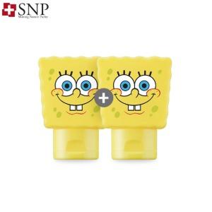 SNP UV Perfect Air Cool Sun Gel SPF50+ PA++++ 80ml*2ea [Sponge Bob Edition]