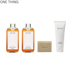 ONE THING Skin Solution Set 4items