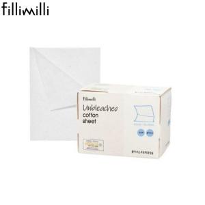 FILLIMILLI Unbleached Cotton Sheet 80ea