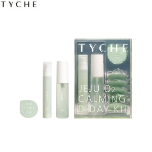 TYCHE Jeju O2 Calming D-Day kit 9items