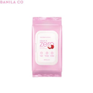 BANILA CO Clean It Zero Lychee Vita Cleansing Tissue 80wipes
