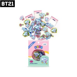 BT21 Baby Flake Sticker Pack 1ea [Jelly Candy Version]