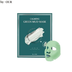 BY:OUR Calming Green Mud Mask 13g*3sheets