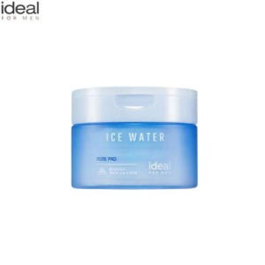 IDEAL FOR MEN Ice Water Pore Pad 60pads