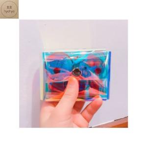 HYOHYO Aurora Square Pouch (Hologram) 1ea