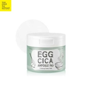 TOO COOL FOR SCHOOL Egg Cica Ampoule Pad 175g/70pads