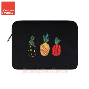 ALL NEW FRAME Pineapple Tablet Pouch (iPad Air/Air 2,Galaxy Tap S2) 1ea,ALL NEW FRAM