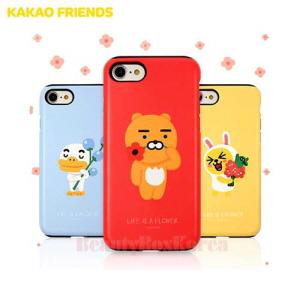 KAKAO FRIENDS Flower Double Bumper Phone Case,KAKAO FRIENDS