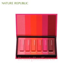 NATURE REPUBLIC Kiss My Mini Lipstick Kit 1.3g*6ea,NATURE REPUBLIC