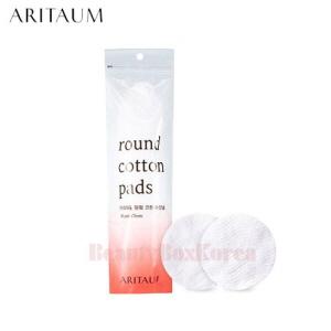 ARITAUM Round Cotton Pads 80ea,ARITAUM