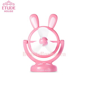 ETUDE HOUSE Bunny USB Electric Fan 1ea [Online Excl.] ,ETUDE HOUSE
