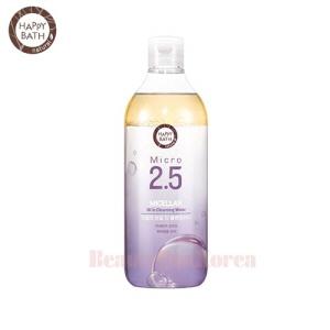 HAPPY BATH Micro 2.5 Micellar Oil In Cleansing Water 400ml,HAPPY BATH