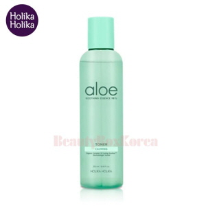 HOLIKA HOLIKA Aloe Soothing Essence 98% Toner 250ml,HOLIKAHOLIKA