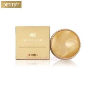 PETITFEE Gold and Snail Hydrogel Eye Patch 24K 1.4g*60ea,PETITFEE