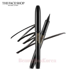 THE FACE SHOP Gold Collagen Marker Pen Eyeliner 1ml (01 Black),THE FACE SHOP