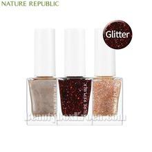 NATURE REPUBLIC Color&Nature Nail Color 8ml [Glitter/Pearl],NATURE REPUBLIC