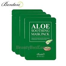 BENTON Aloe Soothing Mask Pack 23g*10ea,BENTON