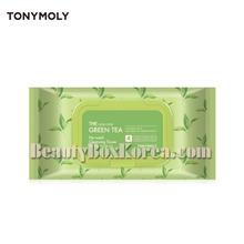 TONYMOLY The Chok Chok Green Tea No-Wash Cleansing Tissue 100ea,Own label brand