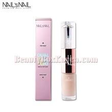 NAIL'S NAIL Dual Nailcoat Base&Top 10ml,NAIL'S NAIL
