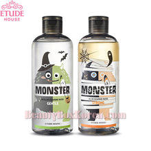 ETUDE HOUSE Monster Cleansing Water Duo Special Set 300ml*2ea [Halloween Edition],ETUDE HOUSE