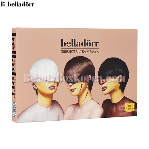 BELLADORR 300shot Ultra V Mask 34g*4ea,BELLADORR