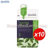 MEDIHEAL Teatree Care Solution Essential Mask EX 24ml*10ea,MEDIHEAL
