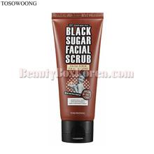 TOSOWOONG Black Sugar Facial Scrub 100ml,TOSOWOONG
