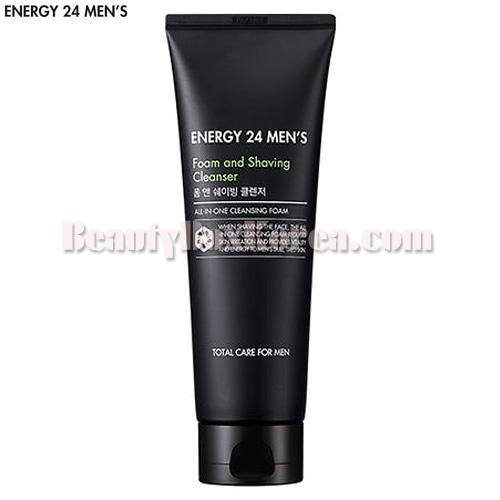 ENERGY 24 MEN'S Foam and Shaving Cleanser 150ml,ENERGY 24 MEN'S