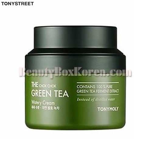TONYMOLY The Chok Chok Green Tea Watery Cream 100ml,TONYMOLY
