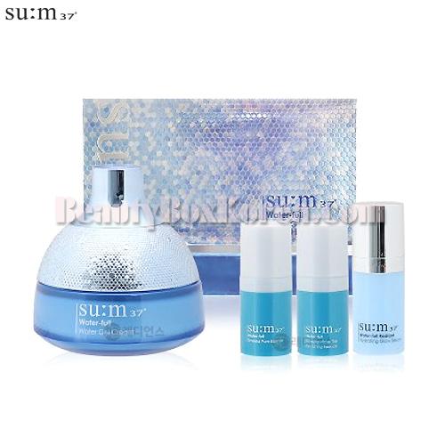 SU:M37 Water-full Water Gel Cream Set 4items,Su:m37