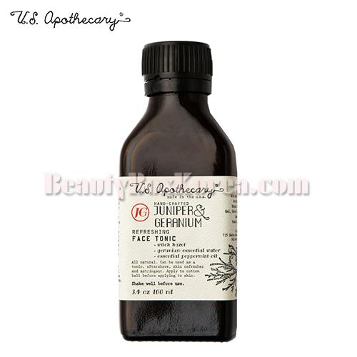 U.S. APOTHECARY Juniper&Geranium Face Tonic 100ml,Other Brand