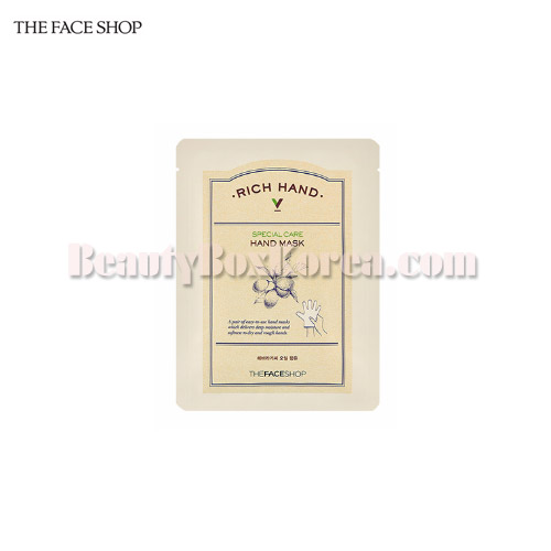 THE FACE SHOP Rich Hand V Special Care Hand Mask 16g,THE FACE SHOP
