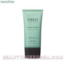 INNISFREE Forest for Men No Sebum Sunblock SPF50+ PA++++ 70ml,INNISFREE