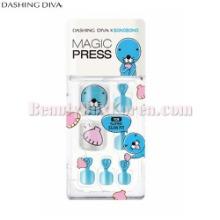 DASHING DIVA Magic Press Pedicure 1Set [BONOBONO Collection]