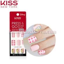 KISS NEW YORK Press & Go One-step Gel Nail Super Hold Slim Fit 1ea [Disney Edition]