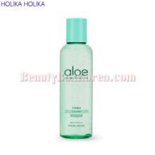 HOLIKA HOLIKA Aloe Soothing Essence 98% Toner 200ml,Beauty Box Korea