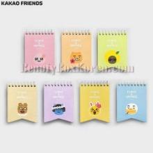 KAKAO FRIENDS Flower&Happiness Mini Pad 1ea,Beauty Box Korea,KAKAO FRIENDS,KAKAO FRIENDS