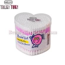 HELLO TALKTOK Heart Cotton Swab 200P