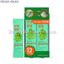 HOLIKA HOLIKA Pure Essence Mugwort Bubble Cleansing Pack 5g*12ea