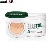 ANDLAB Xylitol Clean Cover Cushion+Cleansing Pad Set 2items