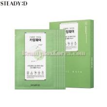 STEADY:D Fabric Mask 25~38ml*5ea