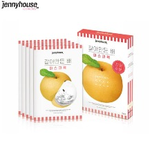 JENNYHOUSE Squeezed Pear Mask 5ea