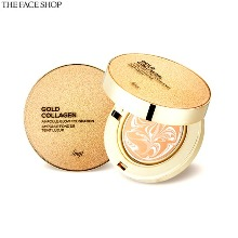 THE FACE SHOP Fmgt Gold Collagen Ampoule Glow Foundation SPF50+ PA+++ 10g
