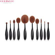 CORINGCO Full Face Artist Brush Set 10items