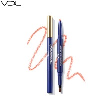 VDL Multi Color Auto Pencil Lip Liner (Pantone 20) 2g [VDL+PANTONE™]