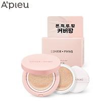 A'PIEU Cover-Pang Glow Cushion SPF45 PA++ Set 2items