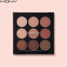 MACQUEEN NEWYORK 1001 Tone-On-Tone Shadow Palette Pro 9 #Brown Mode 9g