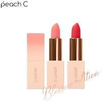 PEACH C Easy Matte Lipstick 3.6g [Blossom Edition]