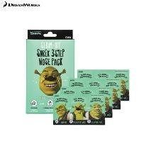 DREAMWORKS Sebum-Off Shrek 3step Nose Pack 4ea
