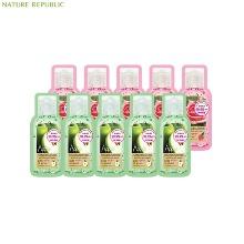 [mini] NATURE REPUBLIC Hand&Nature Sanitizer Gel Pouch 2ml*10ea